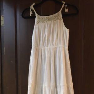 Girls White Dress - Gap Kids size 10 Regular large